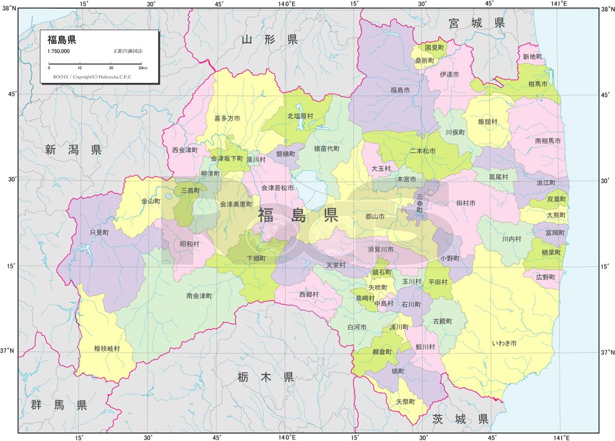 行政区分図